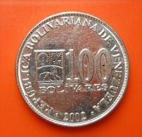 Venezuela 100 Bolivares 2002 - Venezuela