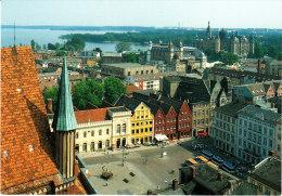 BRD-  Mecklenburg-Vorpommern: 19 053 (O- 27 50) Schwerin, Blick über Den Markt Zum Theater Und Schloß - Ohne Zuordnung