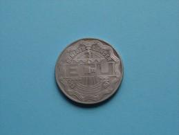 2 1/2 ECU - 1990 / DE NEDERLANDEN / GEERT GROOTE ( Metaalkleur 14.6 Gr. - 33 Mm. / Details, Zie Foto ) ! - Pays-Bas