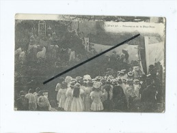 CPA Défaut D´imprimerie En Haut Sur Le Devant-  - Guipavas - Procession De La Fête Dieu - France