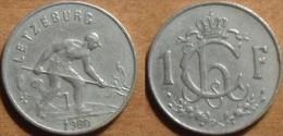 1960 - Luxembourg - 1 FRANC, Charlotte, KM 46.2 - Luxemburg