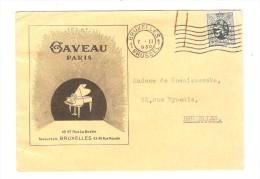 TP 279 S/CP Publicitaire Des Pianos Gaveau Paris Succursale De BXL C.Bruxelles En 1930 V.E/V PR2671 - Music