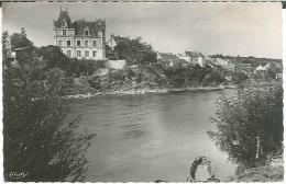 CPSM 49 - Chalonnes Sur Loire - La Loire Et Le Château Des Terrasses - Chalonnes Sur Loire