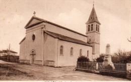 SAINT- VERAND  - L'EGLISE Et Le MONUMENT AUX MORTS - - Saint-Vérand