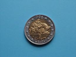5 EURO - ECU BEATRIX Koningin Der NEDERLANDEN 1996 ( 20 Gr. - 35 Mm. / Bicolor / Details, Zie Foto ) ! - Netherland