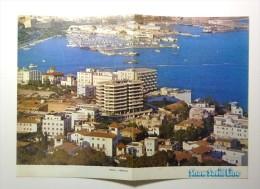 SHAW SAVILL Line. - S.S. OCEAN MONARCH Paquebot. Menu 2 September 1972. Cover With A View Of Palma De Maiorca - Menú