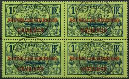 Nouvelles Hebrides (1910) N 19 (o) Bloc De 4 - Légende Française