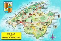 España--Mallorca--1973--Plano De La Isla-----a, Francia - Mapas