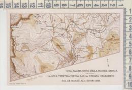 La Zona Trentina Difesa Dalla Brigata Granatieri Dal 23 Maggio Al 5 Giugno 1916 - Oorlog 1914-18