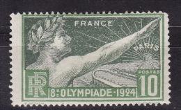 FRANCE 1924. Mi 169, MH(*) - France