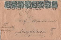 DR Dienst Brief Mef Minr.8x D16 Hötensleben 16.11.20 - Dienstpost