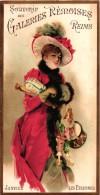 12 Cards Calendar Calendrier Galeries Rémoises Reims 1893 18 94 Chromos Litho 11x20,50cm Edit.Champenois Paris - Calendriers