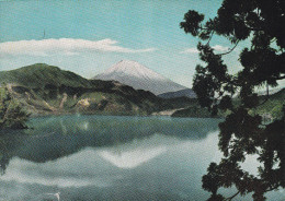 Japon--Monte Fuji And Lake Ashi--Hakome----a, Paris, Francia - Japón