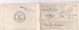CARD ASS.NAZIONALE ALPINI XIII° ADUNATA NAPOLI ALPINO FUMA PIPA VULCANO VESUVIO 2 SCANNER-2-0882-25144-143 - Altre Collezioni