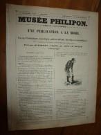 1840  UNE PUBLICATION A LA MODE, Voyage Fantastique,épisodique,philosophique,lunatique Et Sudorifique; Musée PHILIPON , - 1800 - 1849