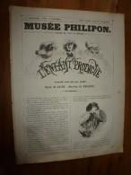 1840  L'ENFANT PRODIGUE Nouvelle Tant Soit Peu Vieille.; Musée PHILIPON ,dessins De JACQUE , Texte De JEAN - 1800 - 1849