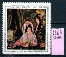 CUBA - Year 1969 - Usato - Used. - Arte