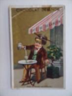 CHROMO Publicité CHOCOLAT DEVINCK Dans Le Doubs Absinthe Toi ! Café De BESANCON Cartes - Proverbes Th.Dupuy Paris - Chocolate