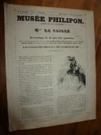 1840 Mlle LA CAILLE ,L'avantage De Ne Pas être Gannalisé, Histoire Méli-méla-mélodramatique.;Musée PHILIPON, Cost. CHAM - 1800 - 1849