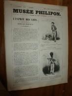 1840 L'ESPRIT DES LOIS , Modes Ridicules (anglomanie Enfantine) Etc,   .;Musée PHILIPON, Dessins Par CHAM De N. - 1800 - 1849