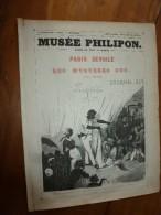 1840 PARIS Dévoilé (5 Livraisons): LES MYSTERES SUS Par CHAM  .;Musée PHILIPON, Nombreux Dessins  Etc - 1800 - 1849