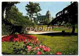 CPM Normandie Trance Gisors Eure Le Jardin Du Chateau - Gisors