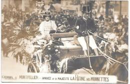 MONTPELLIER - Carnaval - Arrivée De Sa Majesté La Reine Des Midinettes - CARTE PHOTO - Montpellier