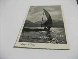 NAVE SHIP BARCA A VELA LAGO D'ISEO - Chiatte, Barconi