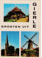 Grote Kaart Gierle Groeten Uit Lille Kempen Gekarteld - Lille