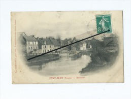 CPA -  Pont Remy - Abreuvoir - Andere Gemeenten