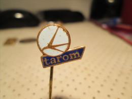 Airplane Company TAROM Pin - Airplanes