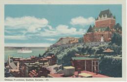 Lot Of 12 - Québec City - Château Frontenac Bridge Boat Montcalm Train Church Monument - All Scans - 5 - 99 Postcards