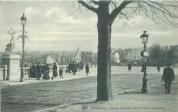 BRUXELLES - Avenue Emile De Mol Vue Vers L'Exposition - Lanen, Boulevards