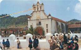 MEXICO - Templo Y Plaza De Chamula, Chiapas - Mexique