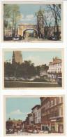 Lot Of 7 - Québec City - Street - Cars - Skating - Falls - Old Gate - All Scans - Postcards