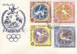 OLYMPISCHE SPIELE-OLYMPIC GAMES, TOKYO - 1964, Special Cover/postmark/stamps !! - Summer 1964: Tokyo