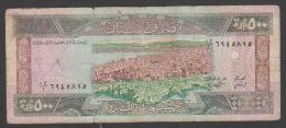 Lebanon,500 Livres,1988,G. - Liban