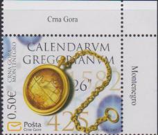 Montenegro Mi 135 - 450 Years Of Gregorian Calendar - 2007 * * - Montenegro