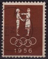 Olympic Games Melbourne - Hønefoss Norway - LABEL CINDERELLA - Sommer 1956: Melbourne