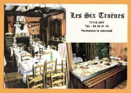 77 Seine Et Marne Ury Bar Tabac Journaux Restaurant Les Six Troenes Maison Perruchot - Other Municipalities