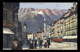 [011] Innsbruck, Maria-Theresienstraße, 1911, Verlag Warger (Innsbruck) - Innsbruck
