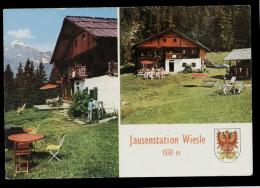 [011] Längenfeld, Alpengasthof Wiesle, Um 1980, Bez. Imst - Non Classificati