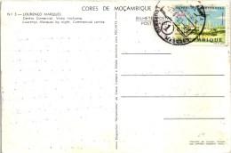 LOURENÇO MARQUES CENTRO COMERCIAL MOZAMBIQUE MOÇAMBIQUE STAMP TIMBRE 1963 (2 SCANS) - Mozambique