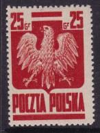 POLAND 1944 Goznak Fi 342 Mint Hinged - 1944-.... République