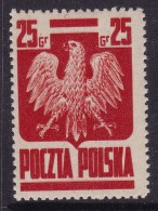 POLAND 1944 Goznak Fi 342 Mint Hinged - 1944-.... Republic