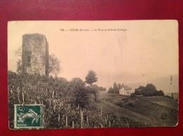 73 Savoie Cpa COISE La Tour Et Le Puits Cottage - Chambery