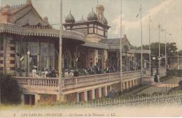 Thématiques 85 Vendée Les Sables D'Olonne Le Casino Et La Terrasse Ecrite Timbrée Cachet 1911 - Sables D'Olonne