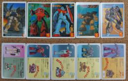 Gundam : Kidou Senchi SD Change : 5 Japanese Trading Cards - Trading Cards