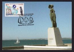 SPAIN ESPAGNE 2003 MAXIMUM CARD. SAILING WORLD CHAMPIONSHIP CADIZ - ANDALUCIA - Vela