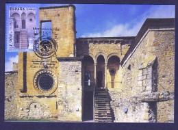 SPAIN ESPAGNE 2004 MAXIMUM CARD. MONASTERY OF CARRACEDO IN LEON PROVINCE ARCHITECTURE - Klöster